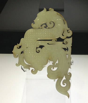 <b>徐州狮子山楚王陵出土西汉白玉龙佩</b>