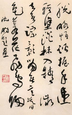 中国书法家协会会员作品