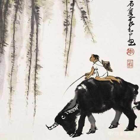 李可染书画大观——牛系列