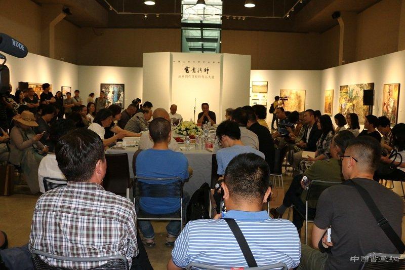 写意精神——王克举油画创作课程班作品大展在中国油画院拉开帷幕