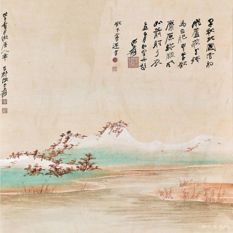 《唐人秋猎图》