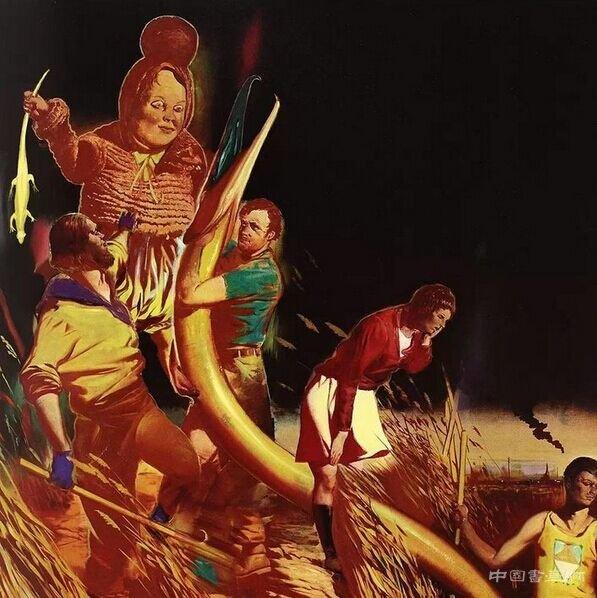 尼奥·劳赫 《SCHILFKIND》 布面油画 2010