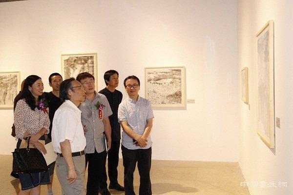 《自然的启示——中国、意大利艺术家碛口写生教学展》在中国艺术研究院中国