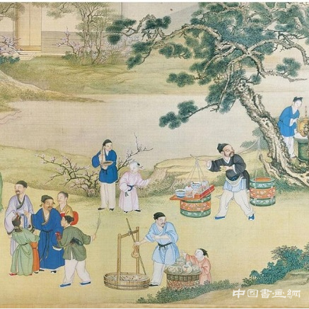 欢庆春节《太平春市图卷》