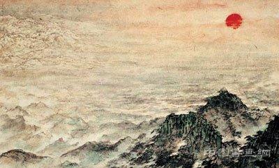 人民大会堂内最大的一幅国画《江山如此多娇》