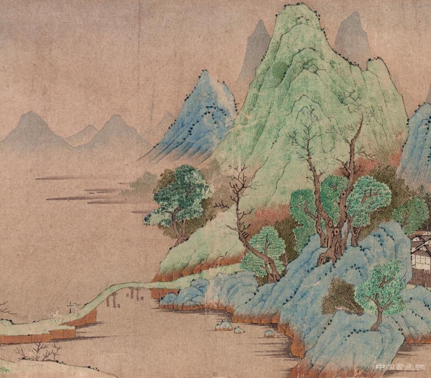 江南湖光山景——《山居图》