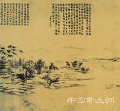 晴岚乍豁江南情调——《千里江山图》