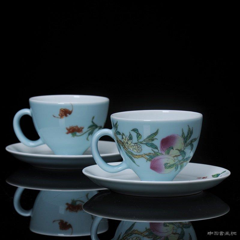 福寿咖啡对杯