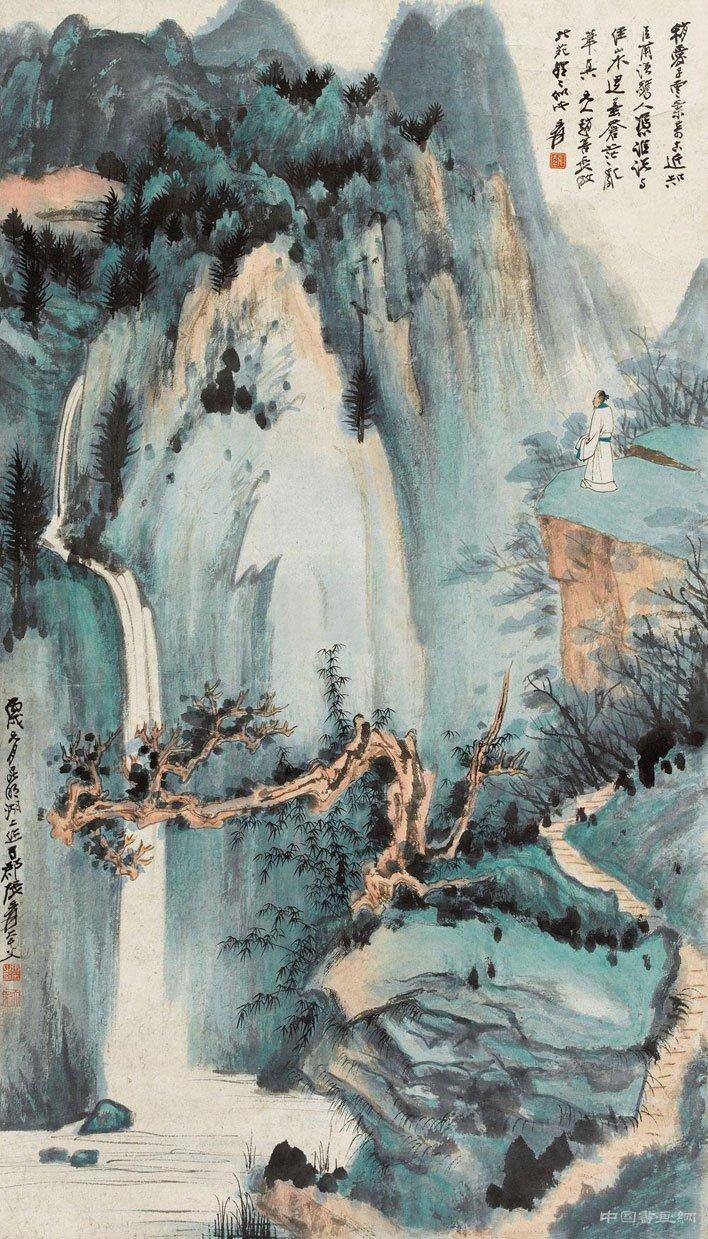 大吉岭山色图