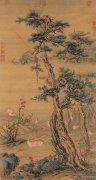 《秋林群鹿图》
