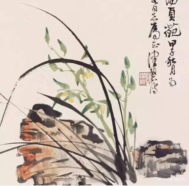 陳佩秋的蘭花
