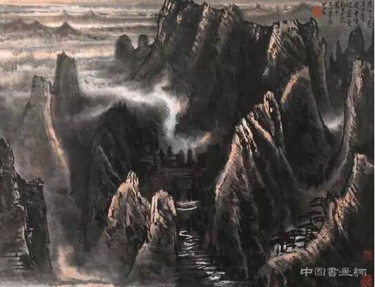 <strong>李可染:山水画创作中的意境和意匠问题。</strong>
