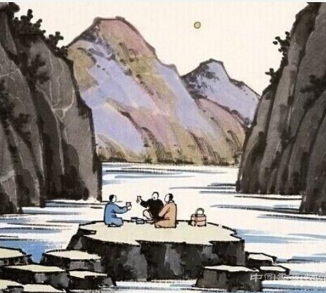 """<strong>""""中国漫画之父""""丰子恺</strong>"""