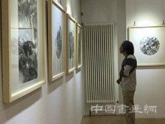 "<b>""风从长安来""骆孝敏 刘超 马良中国画展在北京九千堂美术馆举行</b>"