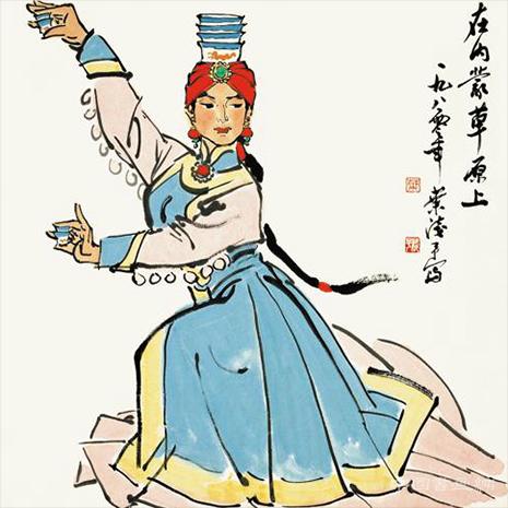 叶浅予:素描对中国人物画造型有巨大的阻力