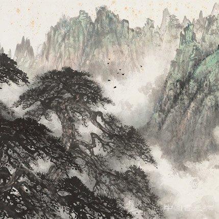 黎雄才的山水画