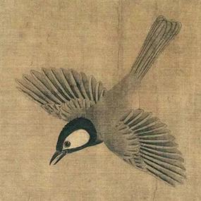 五代黄荃的极品珍禽高清图