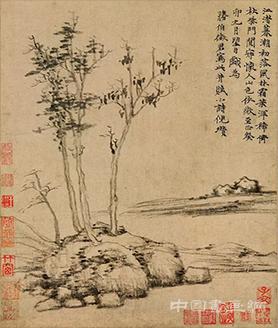 中国古代山水画赏读:元代山水画