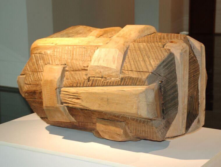 傅中望 木雕