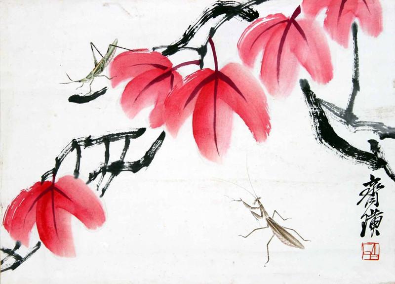 齐白石书画作品价格__企业博客图片