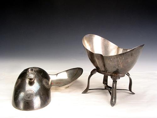 清萬年甲子元寶式火碗