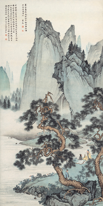 江南风景速写临摹