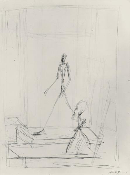 战后欧洲大部分雕塑家发觉很难从门类上迎接来自涂写主义,表现图片