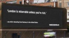 一名艺术家生活在伦敦的高昂成本