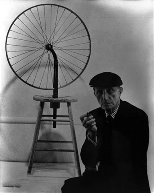 《自行车轮子》马克斯·恩斯特