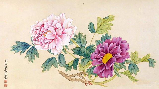 历代名家国画牡丹作品大赏(三)