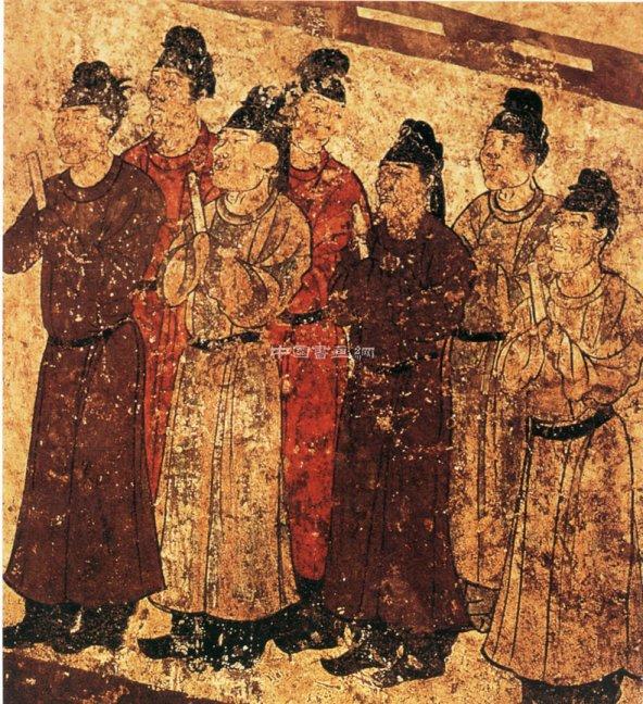唐代传世人物画(三)