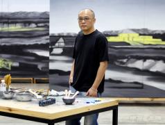 张晓刚:对生活残片的记录