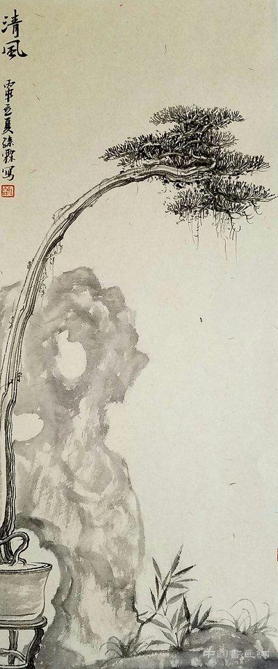园林中国画作品展将在