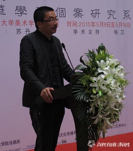 """""""唱一首当代的挽歌"""":河上·高惠君绘画作品展清华美院美术馆开幕"""