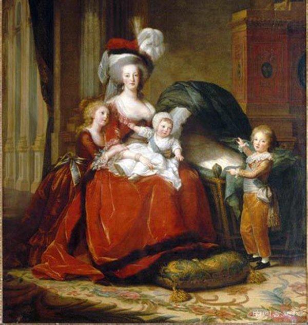 断头皇后玛丽·安托瓦内特和她的孩子们