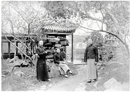 遭遇三次兵火之前的南翔古猗园,只在这张清末老照片里