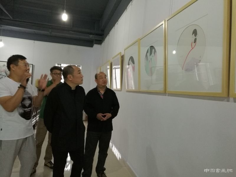 意绘双语——张军博·宋述林绘画艺术展成功开幕