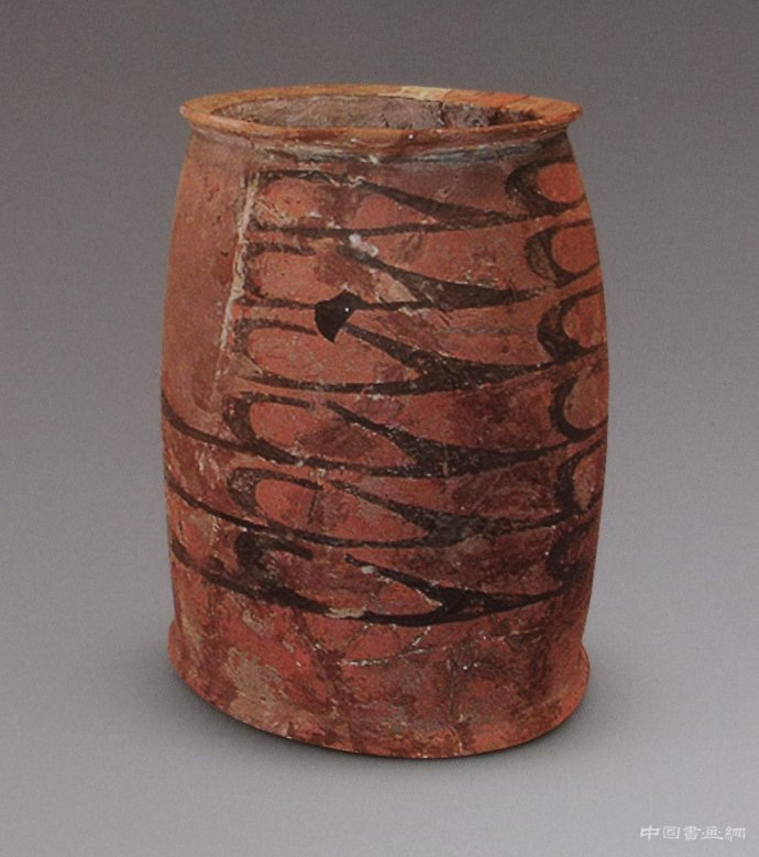 彩陶纹样对后式绘画创作的影响