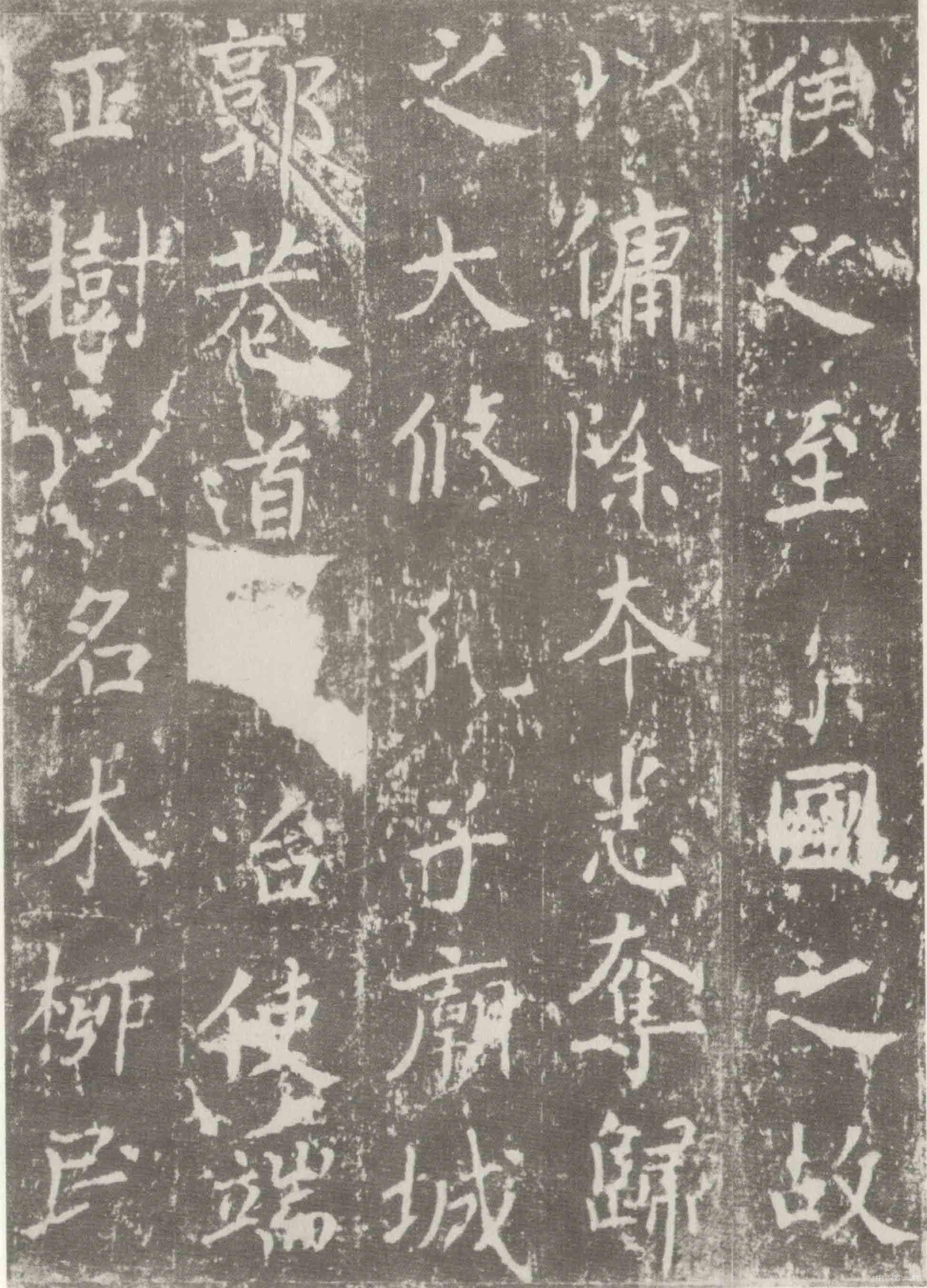 """""""如龙游天表,虎踞溪旁,精神自若,骨法清虚""""——沈传师书法"""