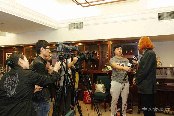 """觉""""祁璐艺术作品全球巡展·佛罗伦萨发布会在政协礼堂隆重举行"""