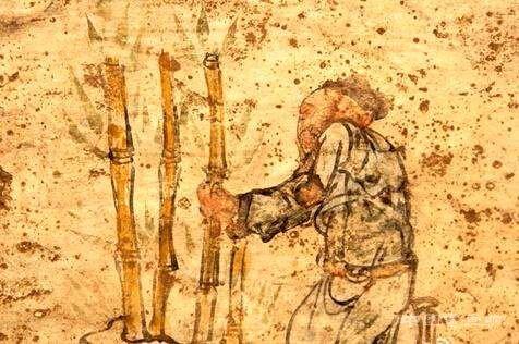 榆林市横山县高镇罗圪台村墓室壁画