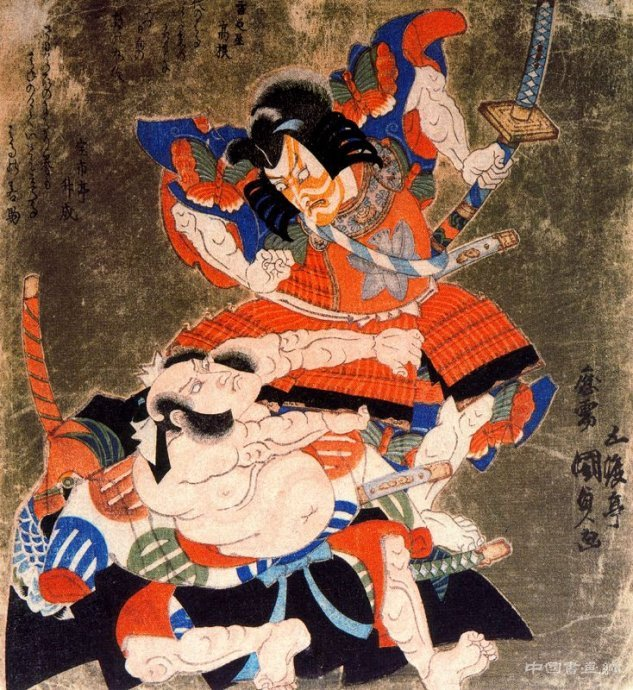 日本浮世绘版画艺术图片