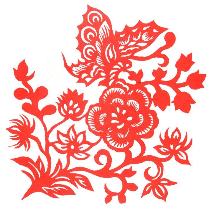 """之一。其在视觉上给人以透空的感觉和艺术享受。剪纸的载体可以是纸张、金银箔、树皮、树叶、布、皮革。   剪纸在中国农村是历史悠久,并且流传很广的一种民间艺术形式。这种民俗艺术的产生和流传与中国农村的节日风俗有着密切关系,逢年过节亦或新婚喜庆,常常会贴""""囍""""这个字,人们把美丽鲜艳的剪纸贴在雪白的墙上或明亮的玻璃窗上、门上、灯笼上等,节日的气氛便被渲染得非常浓郁喜庆。   剪纸艺术是汉族传统的民间工艺,它源远流长,经久不衰,是中国民间艺术中的瑰宝,已成为世界艺术宝库中的一种珍藏。那质朴、生动"""