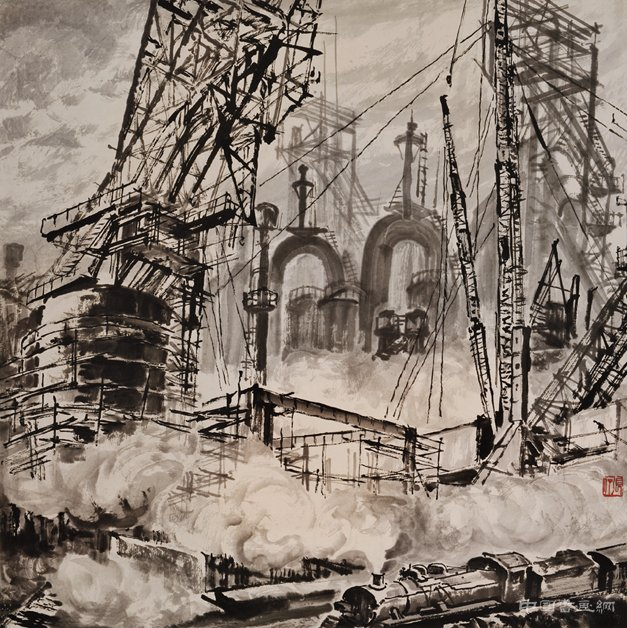 它山之石——张仃诞辰一百周年纪念展