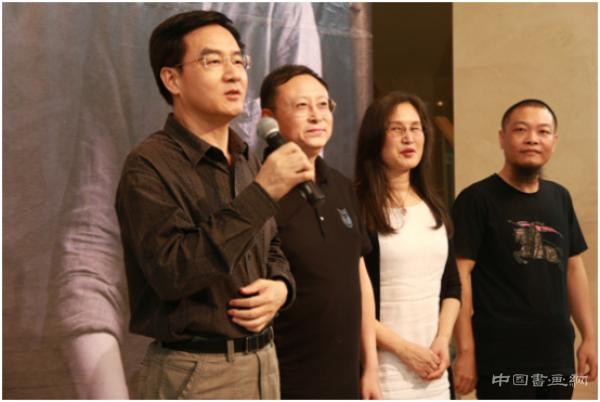 深圳青年書法家鐘廷良作品展開幕