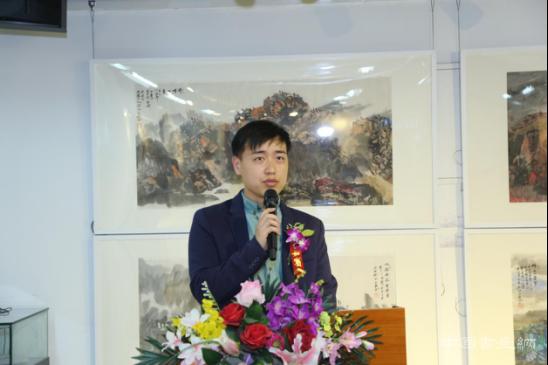 """""""意界幽然·张江山水作品展"""" 4月12日在博宝美术馆开幕"""