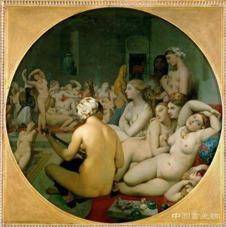 从神圣到色情:西方艺术史中的浴女图