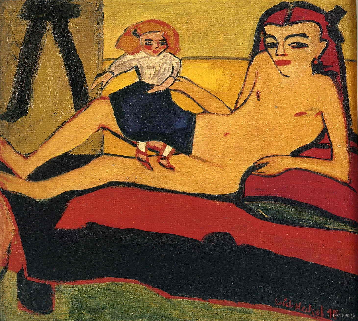 西方表现主义油画对中国表现主义油画的影响