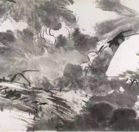 八大山人《河上花图》