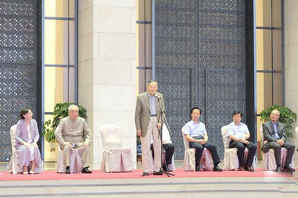 《高怀云岭——范曾八秩之庆艺文展》在国博举行
